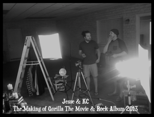 jesse&kc making of Gorilla